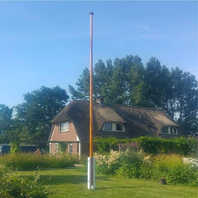 Houten Vlaggenmast 8 Meter