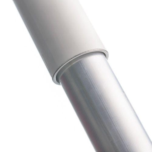 Aluminium baniermast 90mmØ 9 Meter