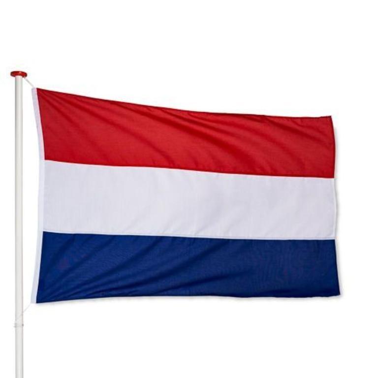 Vlag Nederland 225x350cm Combi