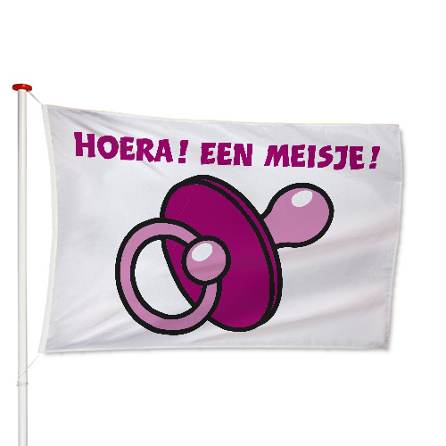 Geboorte Meisje Vlag
