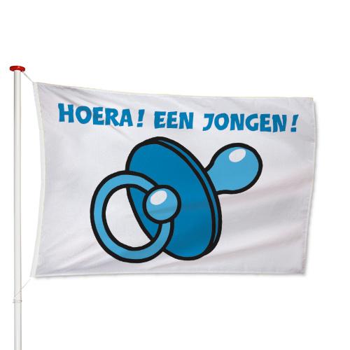 Geboorte Jongen Vlag