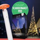 Polyester Vlaggenmast Pro + Fairybell