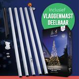Fairybell + Vlaggenmast Deelbaar >