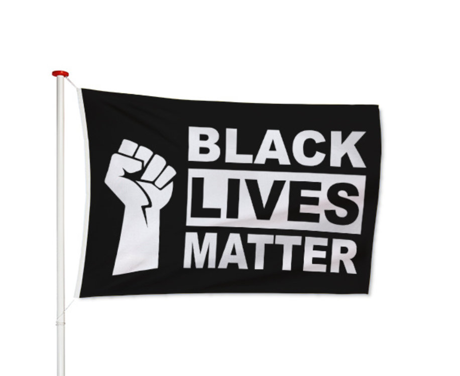 Black Lives Matter Vlag
