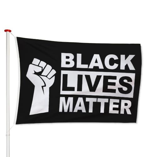 Black Lives Matter Vlag