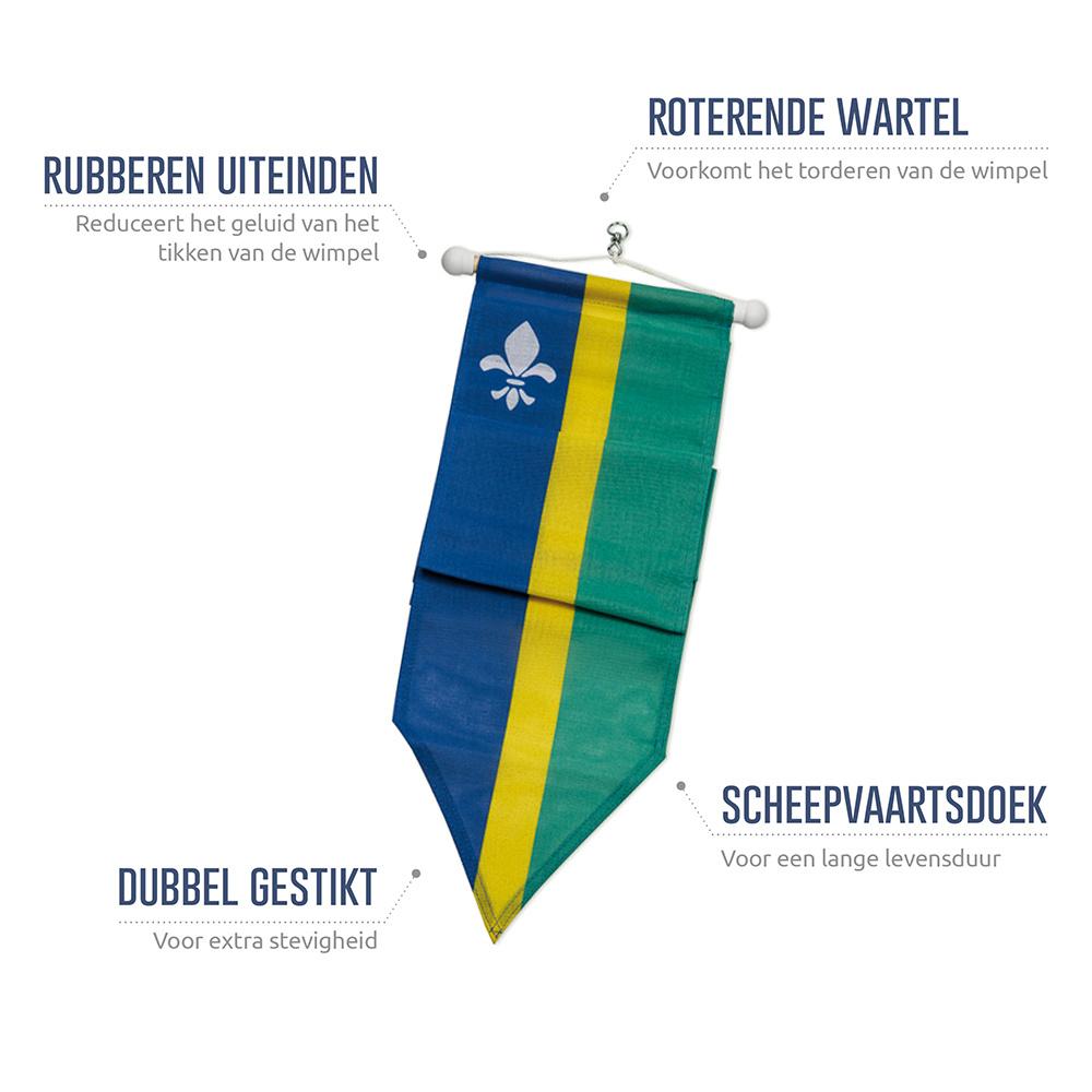 Wimpel Flevoland 300cm