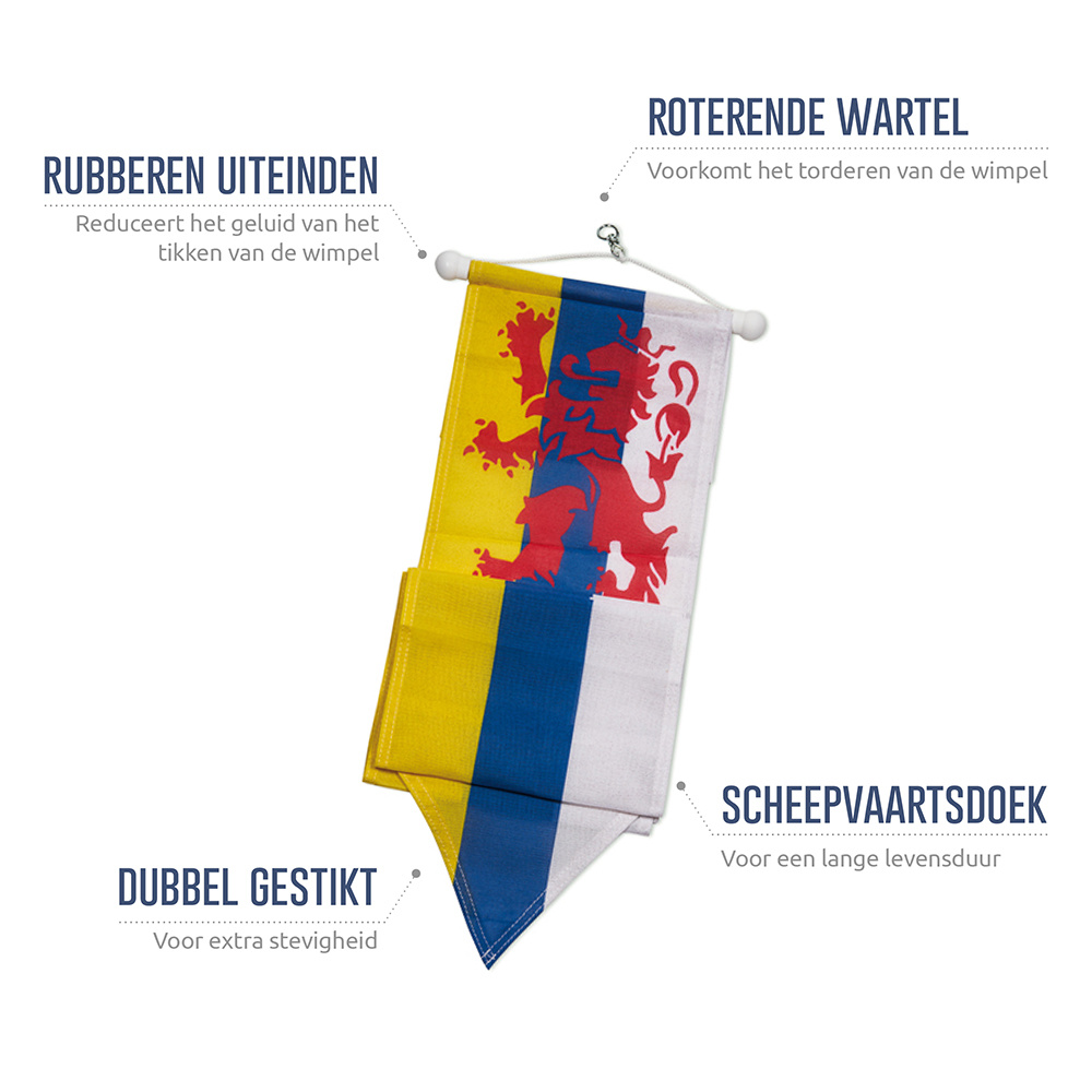 Limburgse Wimpel 300cm