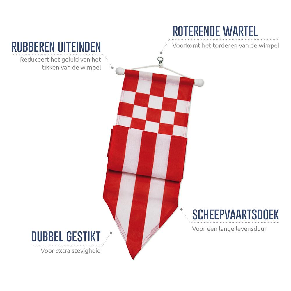 Wimpel Noord-Brabant