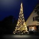 Vlaggenmast Kerstverlichting