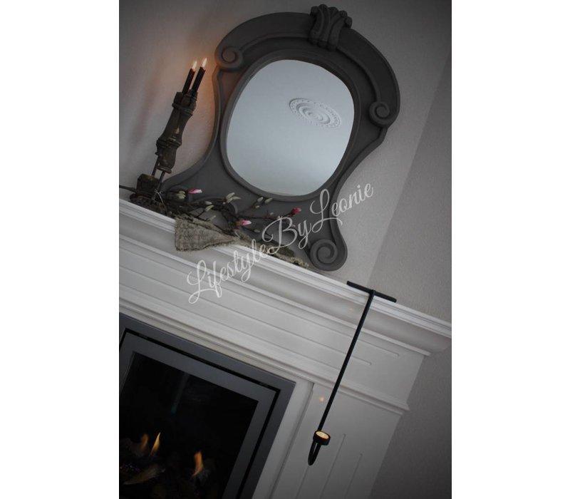 Grote ossenoog spiegel 92 cm