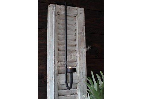 LifestyleByLeonie Smeedijzeren hangkandelaar waxinelicht 55 cm