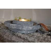 Brynxz Majestic betonnen waxinelichthouder - maat M