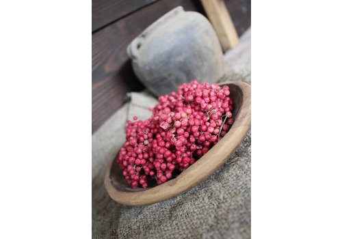 LifestyleByLeonie Roze pepperberries krans |S