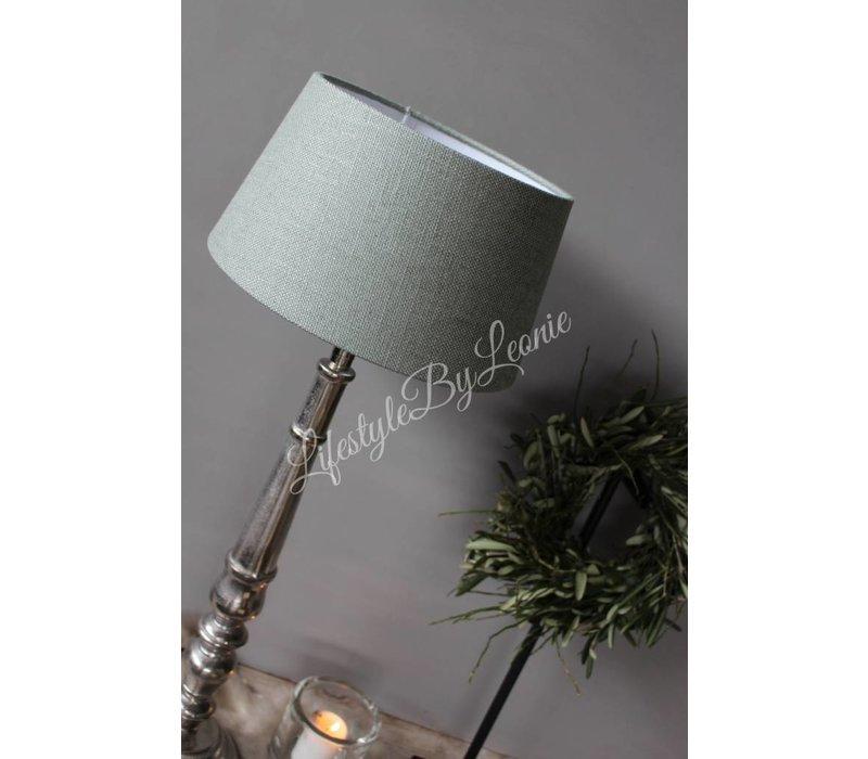 Lampenkap drum Green celadon 25 cm