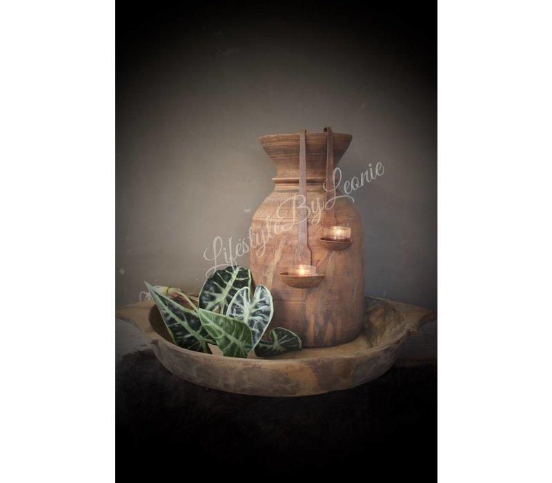 Authentieke Nepalese waterkruik - maat L