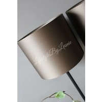Cilinder lampenkap Forest green 20 cm