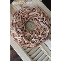 Krans Coco slice Naturel 40 cm
