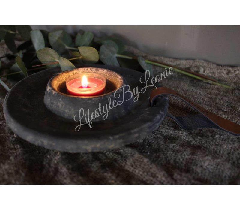 Majestic Brynxz betonnen waxinelichthouder - maat S
