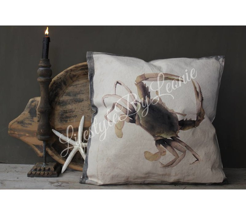 Kussen Holy Crab 50 x 50 cm