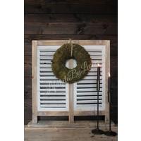 Staande shutter louvre luik Grey 74 x 73 cm