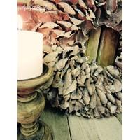 Krans Palm Petal Naturel 55 cm