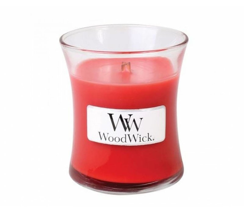WoodWick Cranberry cider mini