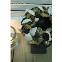 Schelpenkrans Mixed shells 15 cm