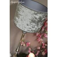 Hoge nikkel lampvoet Gautam 73 cm
