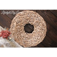 Krans Coco slice naturel 65 cm