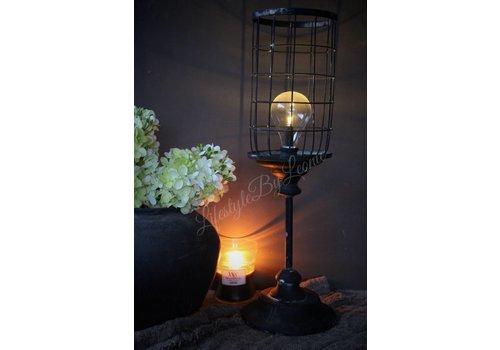 LifestyleByLeonie Hoge metalen LED lantaarn Old look 54 cm