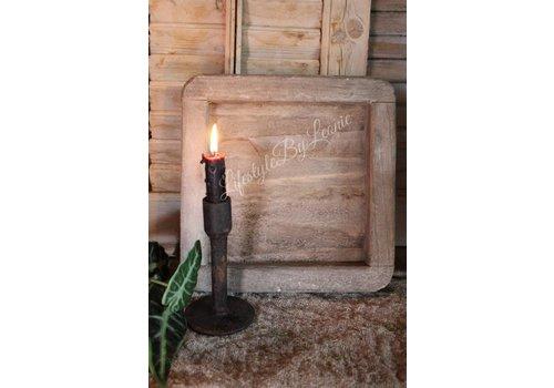 LifestyleByLeonie Naturel houten dienblad vierkant PTMD