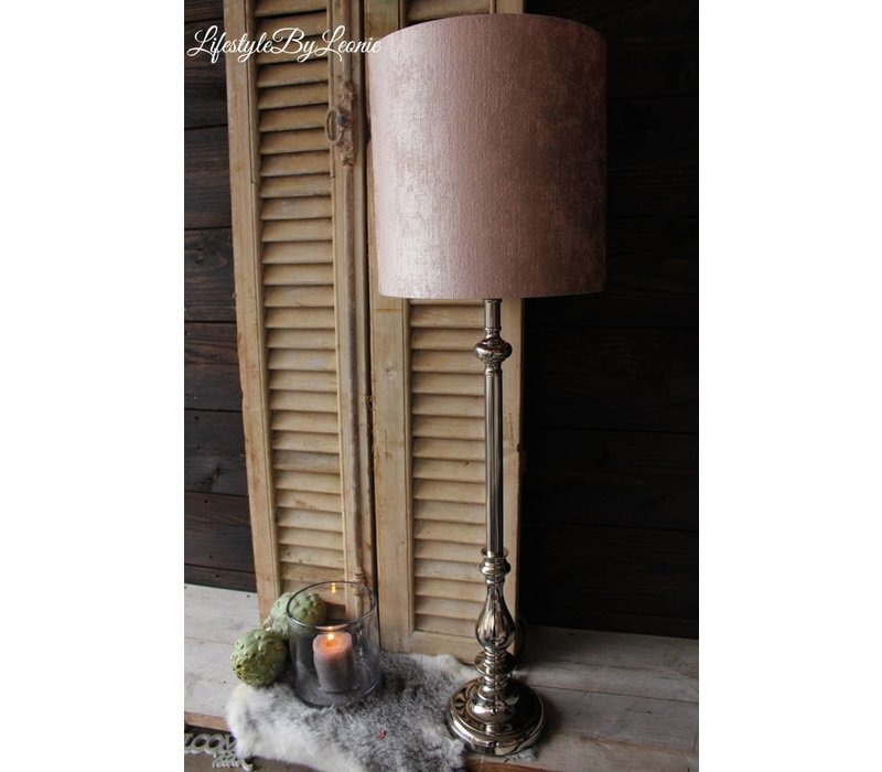 Lampenkap Pink luxury 30 cm