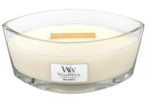 WoodWick WoodWick Mint truffle heartwick flame