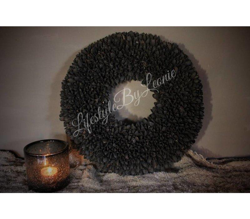 Krans Bakuli black 40 cm