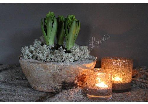 LifestyleByLeonie Zijden Hyacinth met bol green