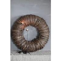 Strakke krans Twig 65 cm