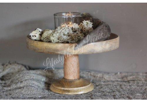 Houten etagere 'Mango wood'|20cm