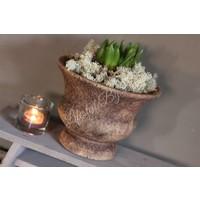 Franse pot roest bruin 20 cm