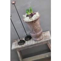 Franse pot roest bruin 31 cm