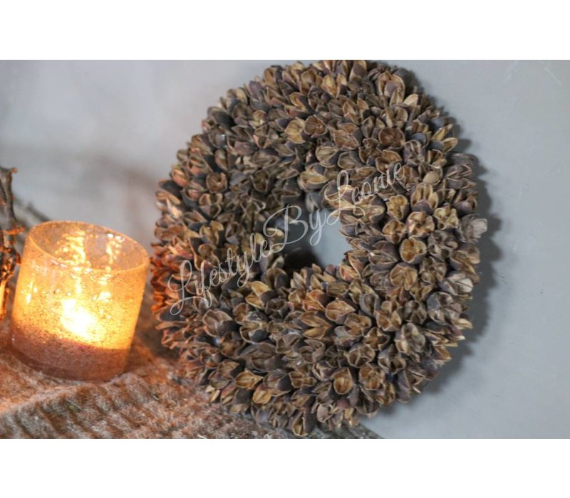 Krans Bakuli naturel 30 cm