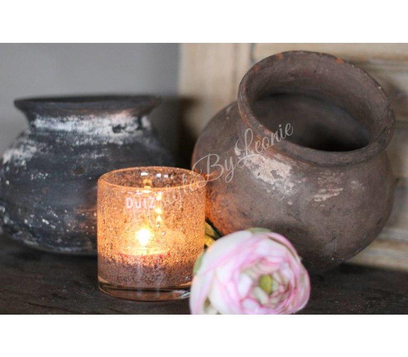 Stenen clay tuimel pot/kruikje