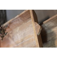 Houten dienblad / tray naturel  37cm