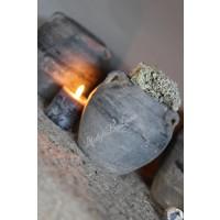 Authentieke grijze chinese kruik- XS
