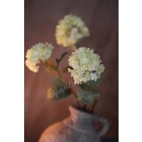 Kunsttak Hortensia sneeuwbal Green