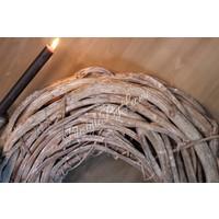 Krans Crazy vine whitewash 50 cm