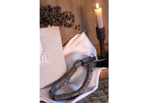 Mijn Stijl Zeep ketting hamam hanger grijs Mijn stijl
