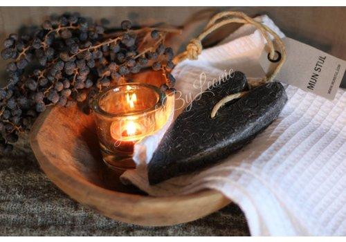 Mijn Stijl Mijn Stijl zeephart batik zwart lavendel - maat XL