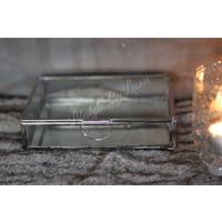 Glazen spiegelbox 17,5 cm