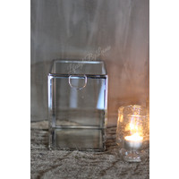 Glazen spiegelbox 17 cm
