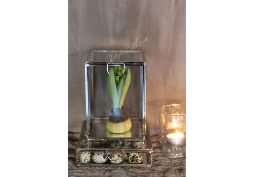 LifestyleByLeonie Glazen spiegelbox 17 cm